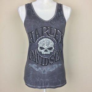 Harley-Davidson Tank Top Skull Gladstone, OR | M |